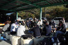 Architecture for Humanity : NPO団体Architecture For Humanityと共に、南三陸町志津川地区における漁師らと共に作業小屋の使い方について考え、コミュニティの持続と発展を目的にした場作りに携わっている。